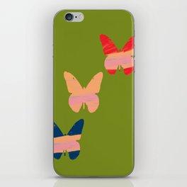 Butterflies 2 iPhone Skin