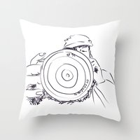 photographer Throw Pillows featuring photographer by AA++