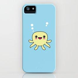 Kawaii Octopus iPhone Case