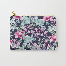 Floral Pattern 1 Carry-All Pouch