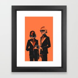 Random Access Memories Framed Art Print