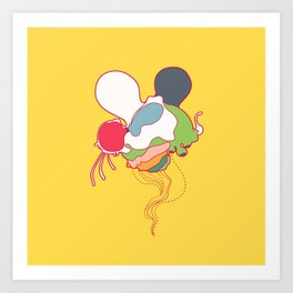 itsy bitsy cooties #145 Art Print