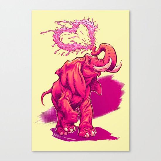 ELEFFECTION Canvas Print