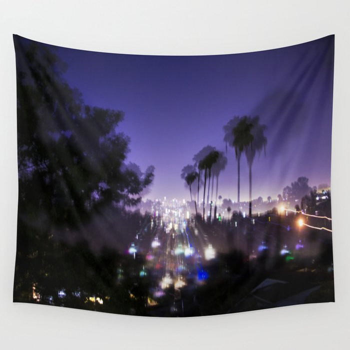 Chasing Light in Los Angeles Wall Tapestry