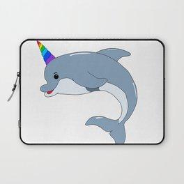 Unicorn Dolphin Laptop Sleeve