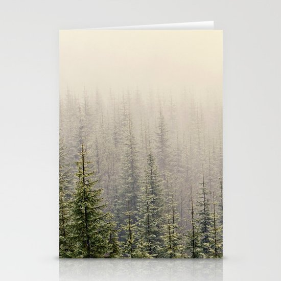 Mountain Haze Stationery Cards