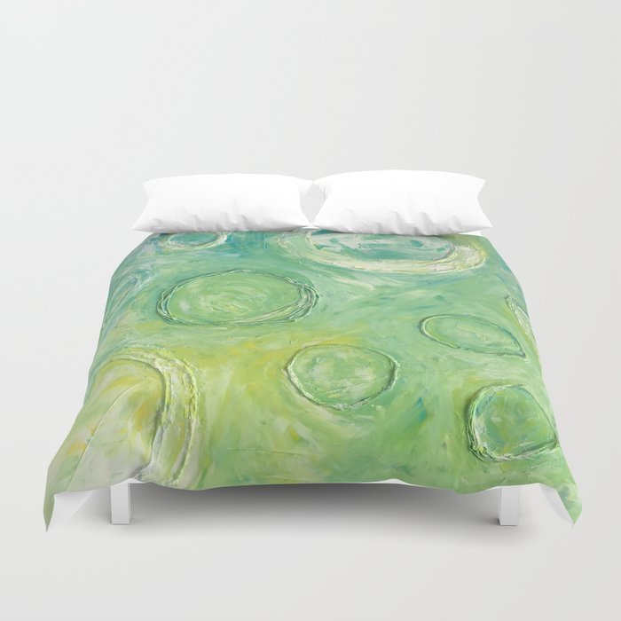 Circles Rising Duvet Cover