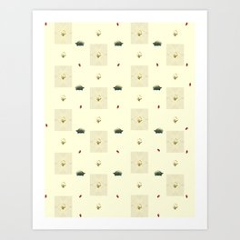 Turtles, Dandelions, And Sweet Potatoes Art Print