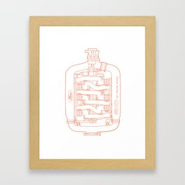 Intake Framed Art Print