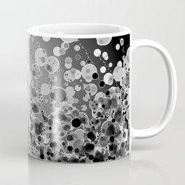 Black and White Spotted2-Grey Coffee Mug