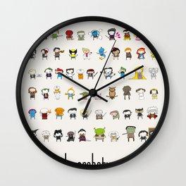 Archetypes Wall Clock