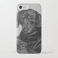 dachshund iPhone & iPod Cases featuring Dachshund by Natasha Maiklem