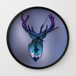 POTTER - PATRONUS ARTISTIC PAINT Wall Clock