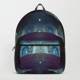 """Space purple Fantasy"" Backpack"