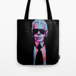 Karl Lagerfeld Portrait Pop Tote Bag