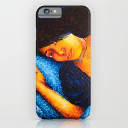Woman In Bed iPhone Case