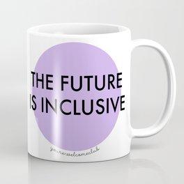 The Future Is Inclusive - Purple Coffee Mug