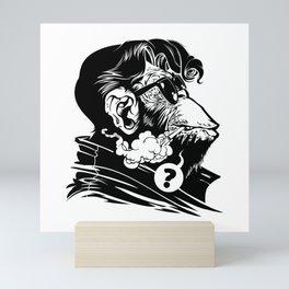 Arctic Monkey Mini Art Print