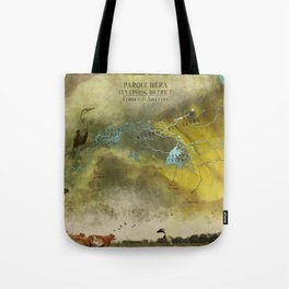 Ibera fly fishing district Tote Bag