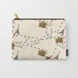 Paris Envelopes Carry-All Pouch