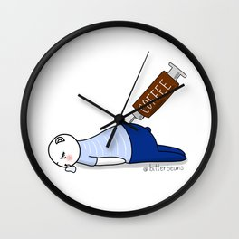 Double shot please... Wall Clock