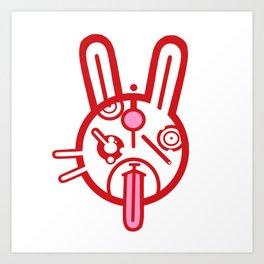 Dumb Bunny Art Print