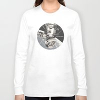 gravity Long Sleeve T-shirts featuring Gravity by Señor Salme
