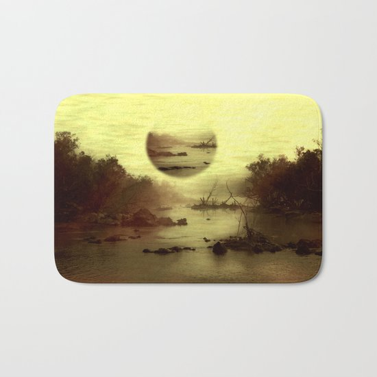 Illusive visions float above my head... Bath Mat