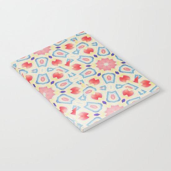 RED ARABESQUE Notebook