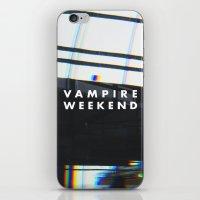 vampire weekend iPhone & iPod Skins featuring Vampire Weekend 3 by alboradas
