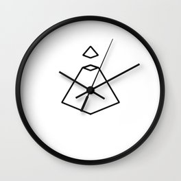 Piramide Concept Wall Clock