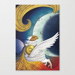 La donna, l'ippogrifo e la Luna. Festival della Valle D'Itria_2017 Canvas Print