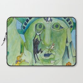 Statue of Liberty Canine Style Laptop Sleeve