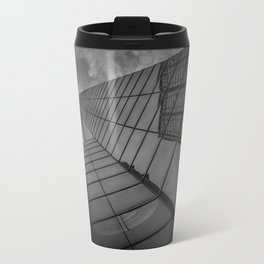 looking up; feeling grey... Travel Mug