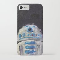 r2d2 iPhone & iPod Cases featuring r2d2 by Thad Taylor Art