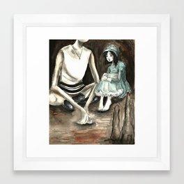 Tzeitel and the Woods, No. 28 Framed Art Print