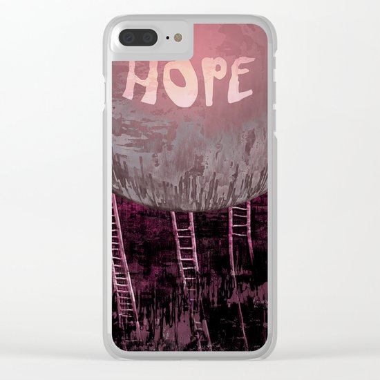 Hope, Climbing / Wonderful Planet 13-11-16 Clear iPhone Case
