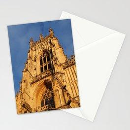 York Minster Sunlight Stationery Cards