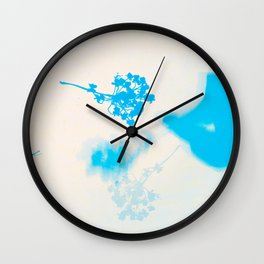 Natural Meditations: Queen Anne's Lace Wall Clock