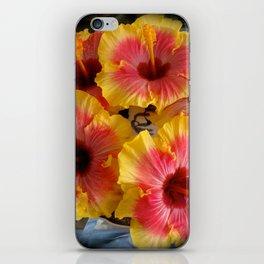 Hibiscus Plate iPhone Skin
