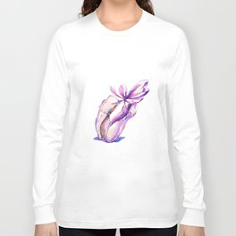Dancing Pointe shoes Long Sleeve T-shirt