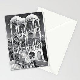 mc escher belvedere Stationery Cards