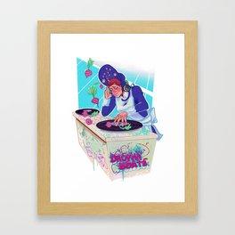 Amelia Bedelia drops the beat Framed Art Print