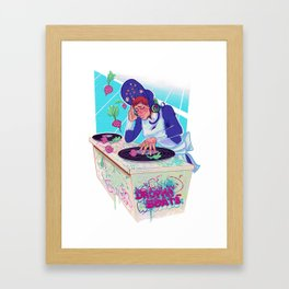 Amelia Bedelia drops the beat Framed Art Print