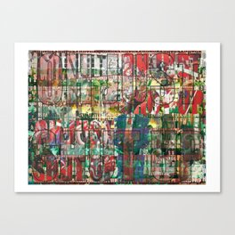 SHUTUP 02 Canvas Print
