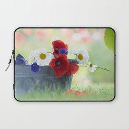 Poppies Symphonies Laptop Sleeve