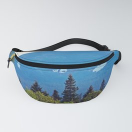 Summer Snow on the Mountain Fanny Pack