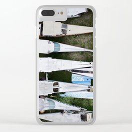 Wrecks of Airplanes Clear iPhone Case
