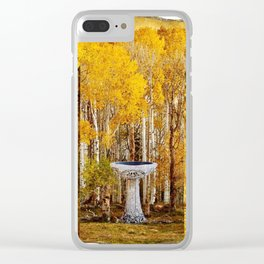 Elvish Places III Clear iPhone Case