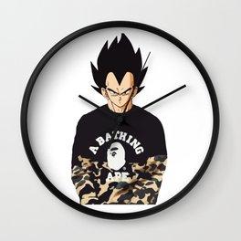 Vegeta bape Wall Clock